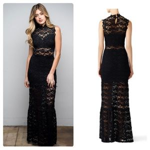 Nightcap Free People Victorian Lace Maxi Dress